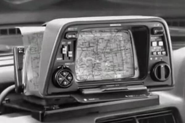 GPS太嫩了,最早的车载导航诞生于1981年!