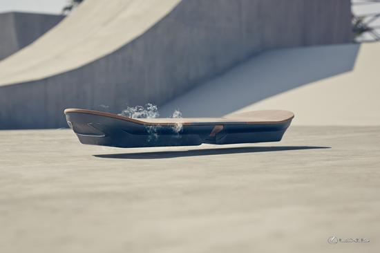 雷克萨斯开发悬浮滑板原型, 飞行汽车不是梦