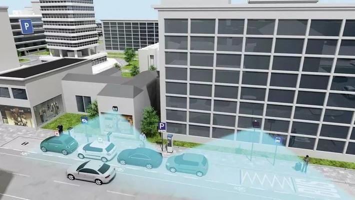 西门子设计了一套寻找停车位的新方法