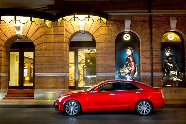 售30.8万~43.8万,凯迪拉克ATS车型中国首发