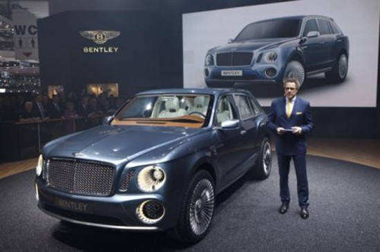 宾利首款SUV车身将于斯洛伐克工厂生产