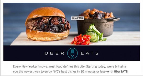 Uber在纽约、芝加哥推UberEATS送餐服务