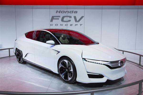 本田宣布FCV大规模量产计划, 最早2020年实现