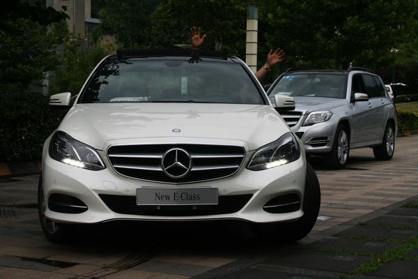 新动力、新装备,体验北京奔驰全新E级轿车