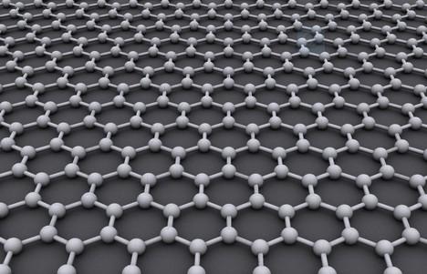 石墨烯原子结构