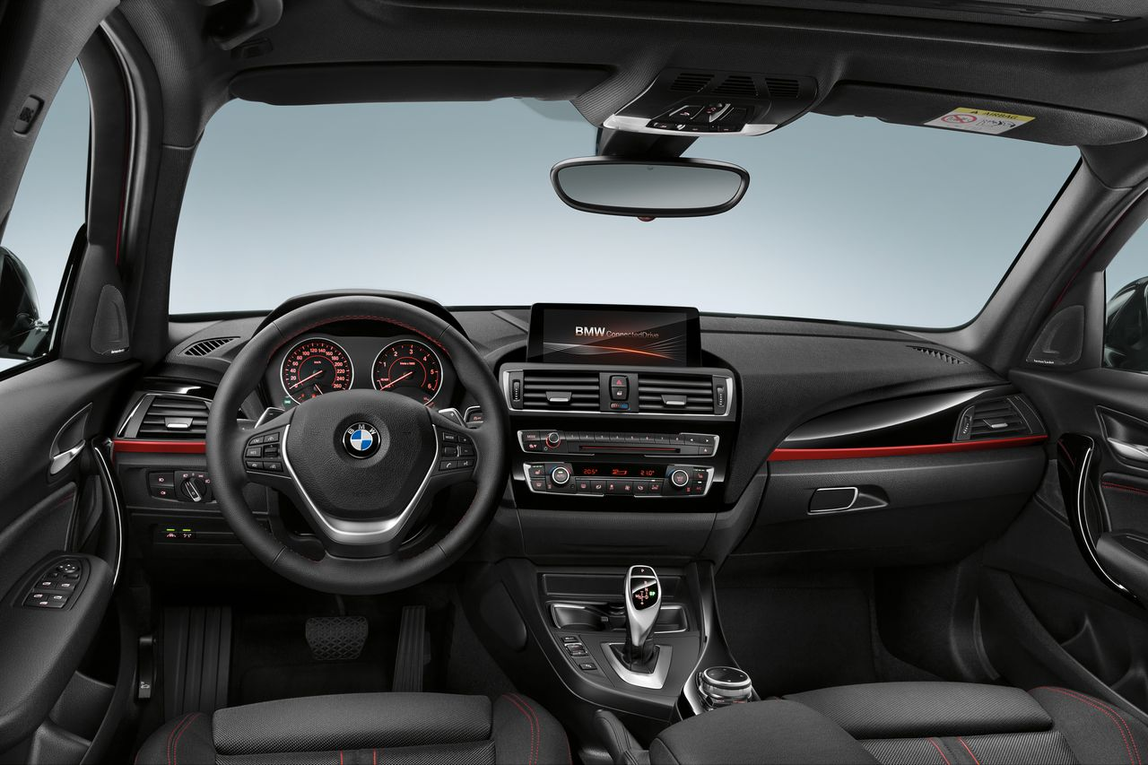 新BMW 1系运动型两厢轿车上市 25.6~49.6万元
