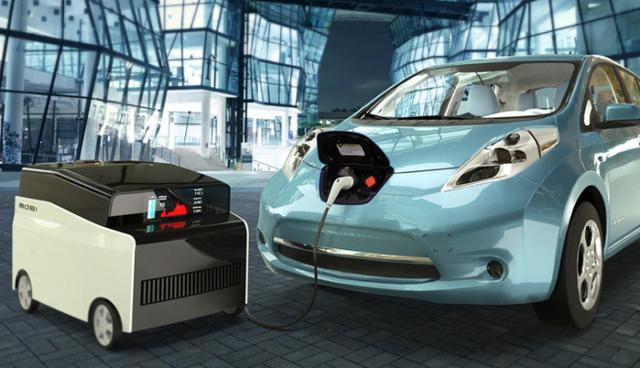 电动汽车移动充电站mobi charger问世