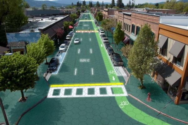 太阳能道路系统Solar Roadways,刷新众筹活动纪录