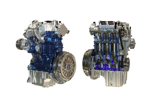 福特提高1.0L排量3缸EcoBoost发动机的燃效