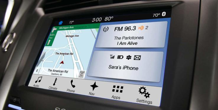 福特新一代车载信息娱乐系统sync 3揭秘