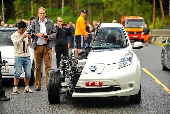 马路电动汽车太多了,挪威要取消其特权