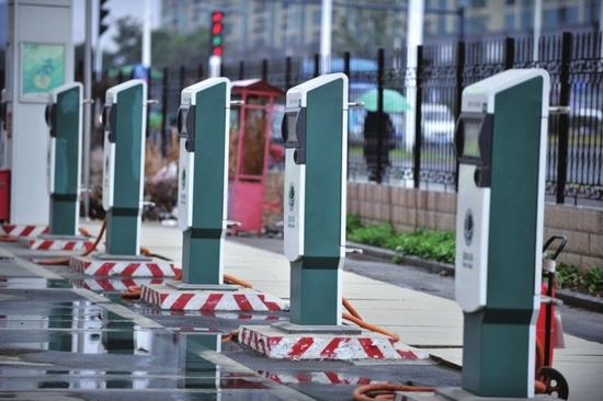 上海启用公共充电桩APP