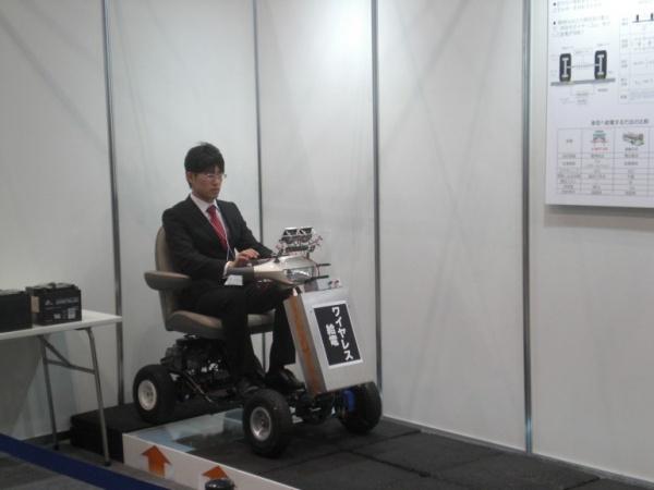 日本研发靠射频提供动力的电动车