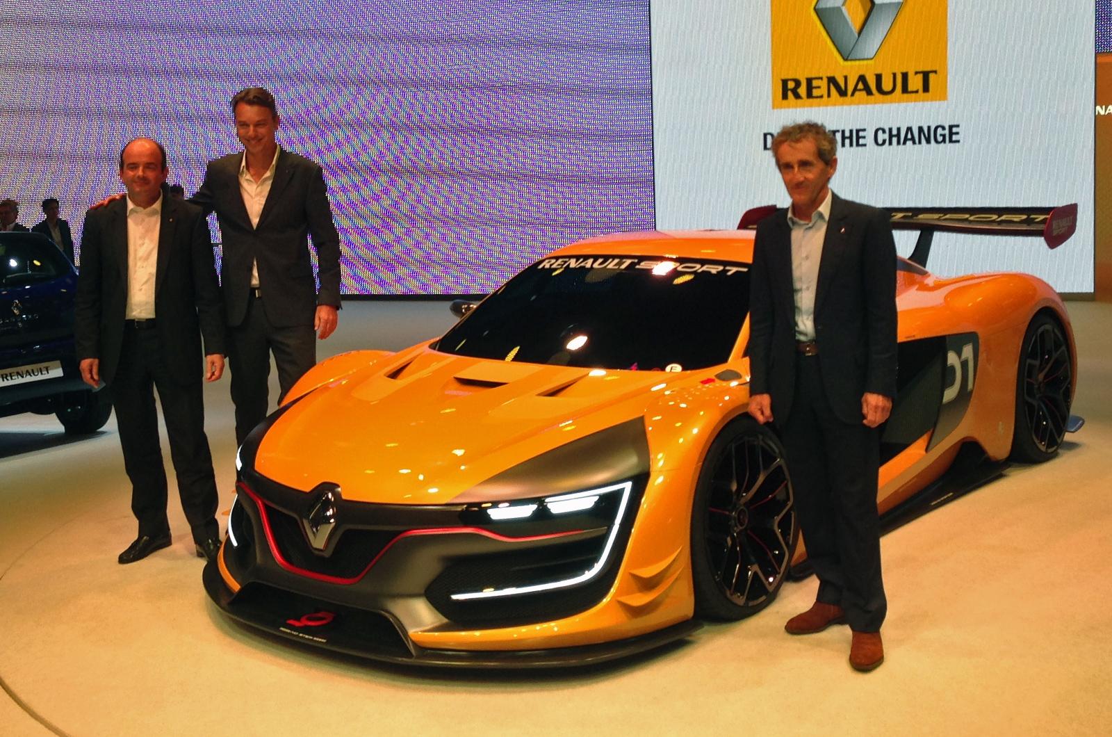雷诺全新RS 01赛车发布 功率超493马力