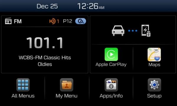 现代在CES 2015上展示最新车载系统,兼容CarPlay和Android Auto