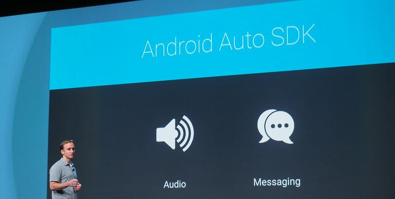 """Android Auto""姗姗来迟,小苹果你准备好了咩?"