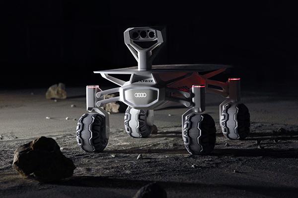 奥迪计划2017年发射月球车Quattro