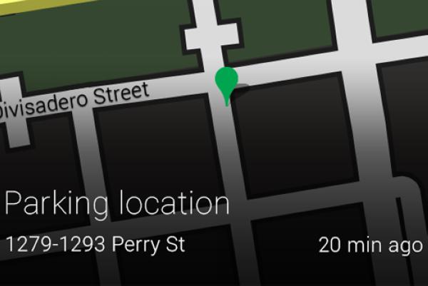 谷歌眼镜新增停车位提示功能