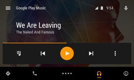 谷歌公布Android Auto应用文档,规定标准化界面
