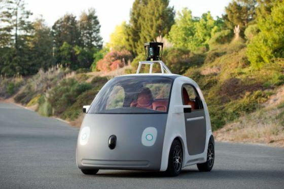 谷歌正式发布无人驾驶汽车原型
