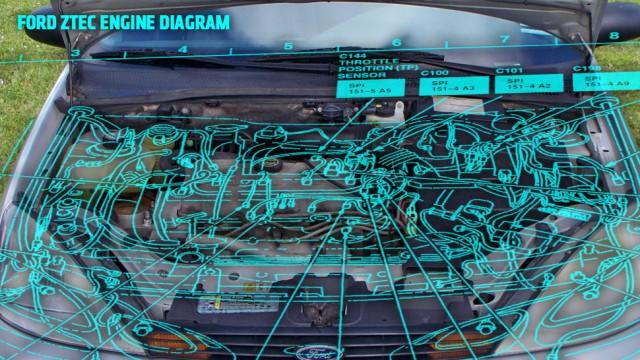 #我和我的小伙伴都惊呆了# Google Glass开车修车买车样样行!