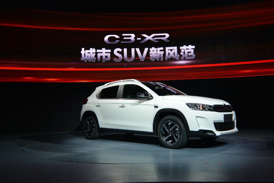 东风雪铁龙C3-XR中国首秀,预售11万元起