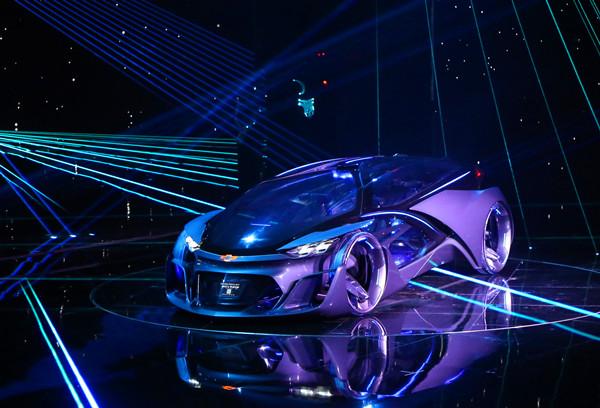 一场有钱任性的上海通用之夜,一款Geek范儿爆表的全球首发概念车
