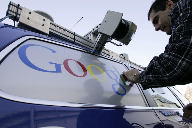 当你开上谷歌无人驾驶车,人不是人,车不是车高清图片