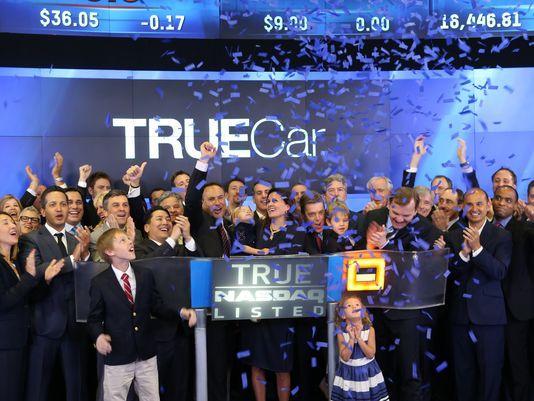 汽车研究与销售平台TrueCar上市首日大涨12.2%