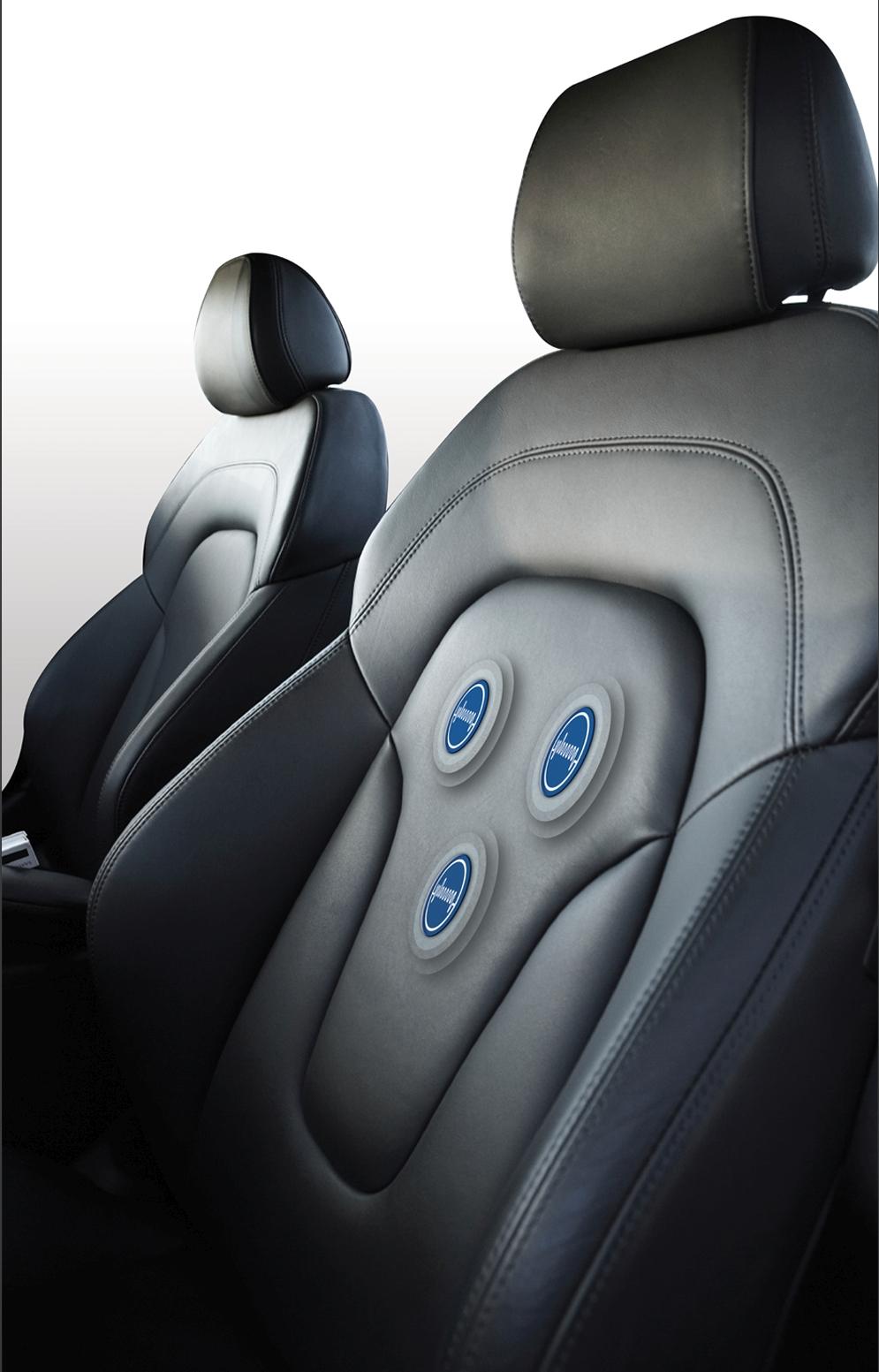 汽车座椅变身心电图:随时监测司机心率,保障行车安全